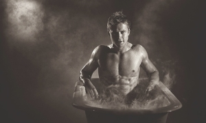 Todd Lasance who plays Julius Caesar.