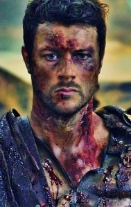 The lovely Dan Feuerriegel who portrayed Agron in Spartacus.