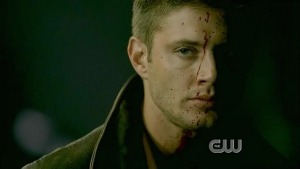 Jensen Ackles, also of Supernatural, who stars as Dean Winchester.