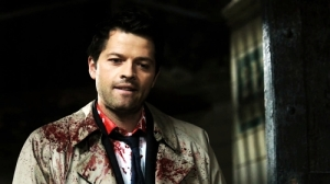 Misha Collins as Castiel from Supernatural.